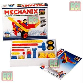 Buy 57pc Mechanix Planes 1 Engineering Toy Set Age3-6 online