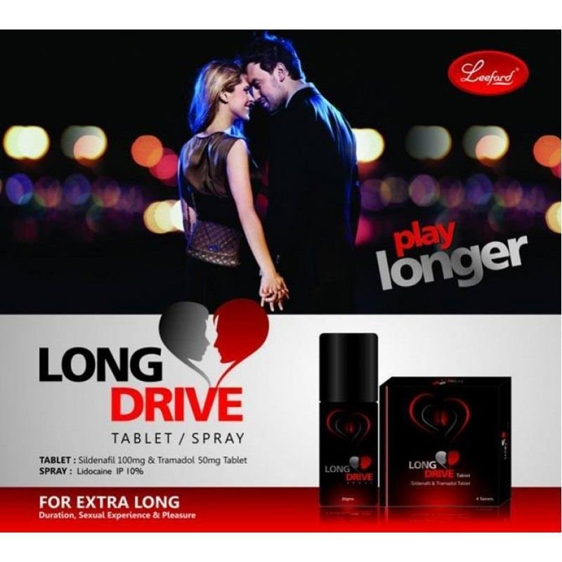 Buy Long Drive (delay Spray For Men) X 3 online