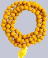 Buy Haldi Mala Turmeric Mala Puja Mala Jap Mala Rosary Puja Accessories online