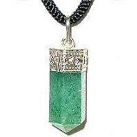 Buy Green Aventurine Pendant (crystal Healing) Pyramids Fengshui Vastu online