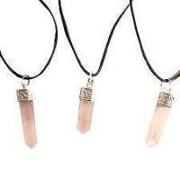 Buy Rose Quartz Pendant (crystal Healing) Crystals Fengshui Vastu online