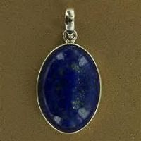 Buy Lapis Lazuli Pendant Round Shape (crystal Healing) Crystals Fengshui Vastu online