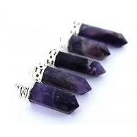 Buy Amethyst Pendant (crystal Healing) Pyramids Fengshui Vastu online
