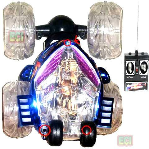 Buy Cordless Remote Control Robotic Spin Toy Stunt Car online
