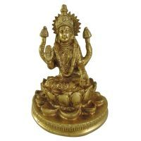 Buy Laxmi Brass Statue God Idol For Pooja,statue For Temple online