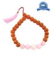 Buy Astrological Bracelet Online Rudraksha Beads And Gemstone Combination online