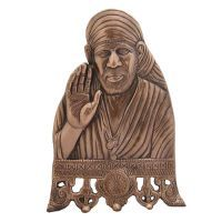 Buy Saibaba Showpiece Table Decorative Antique Copper Finish online