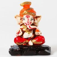 Buy Ghasitaram Gifts-round Feta Ganesha online