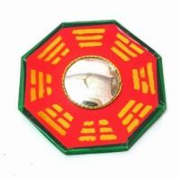 Buy Feng Shui Bagua Mirror Convex For Positive Energy-9x9 Cm online