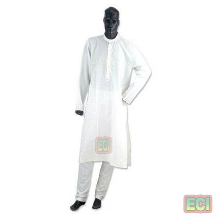Buy Premium Men White Kurta & Pajama Set, Ethnic Gents Wear Cotton Kurtapajama online