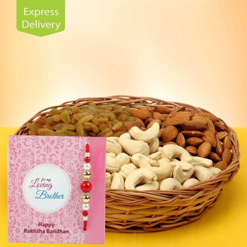 Buy Cashew N Raisins-rakhi online