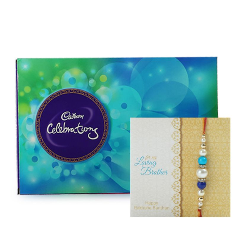 Buy Celebration With Rakhi Combo online