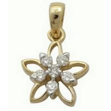Buy Ag Real Diamond Stone Pendant online