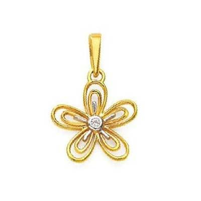 Buy Traditional Fashion Flower Shape Pendant Agsp0117 online