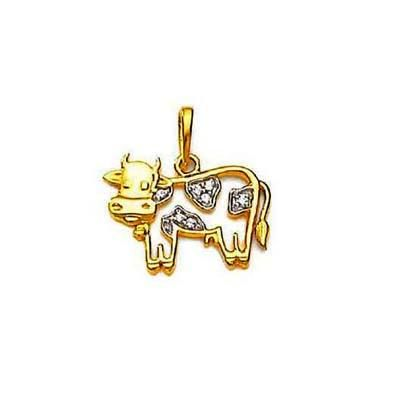 Buy TRADITIONAL COW SHAPE DIAMOND PENDANT online