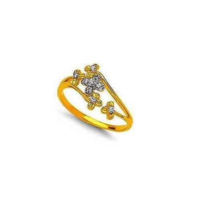 Buy Beautiful Flower Theam Diamond Ring Agsr0168 online