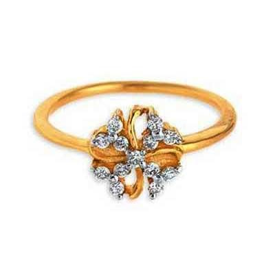 Buy Beautiful Open Flower Diamond Ring Agsr0201 online
