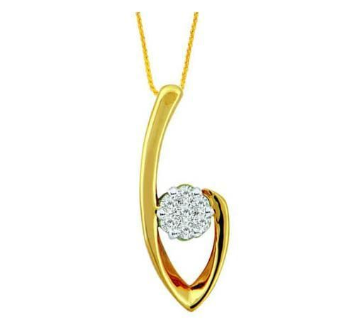 Buy Avsar Real Gold And Diamond Trandy Fashion online