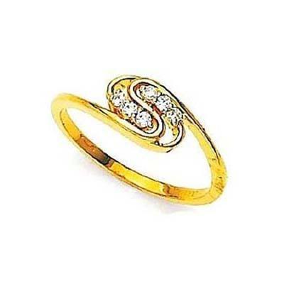 Buy Twested S Shape Diamond Ring Avr106 online