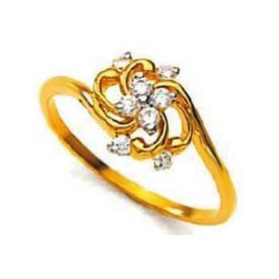 Buy Fancy Swirl Flower Shape Diamond Ring Avr116 online