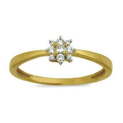 Buy STUNING FLOWER LOOK DIAMOND RING online