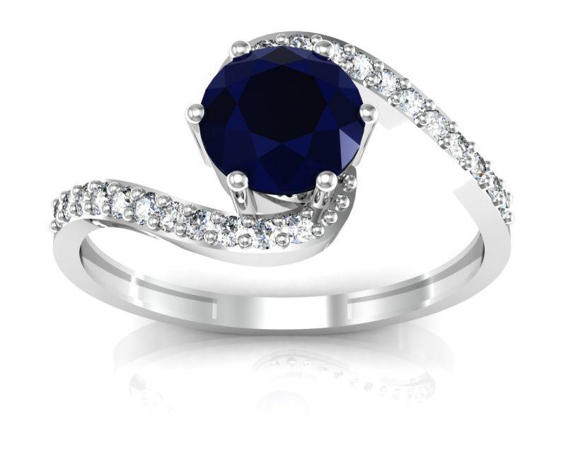 Buy Ag Real Diamond Kareena Ring online