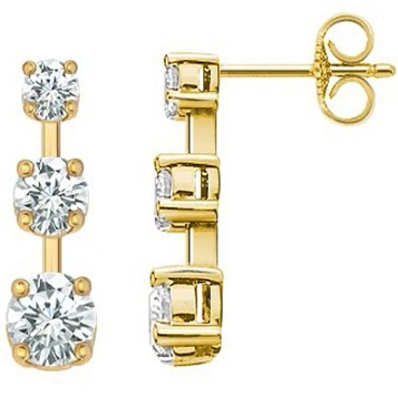 Buy Ag Real Diamond Kalyan  Earring online