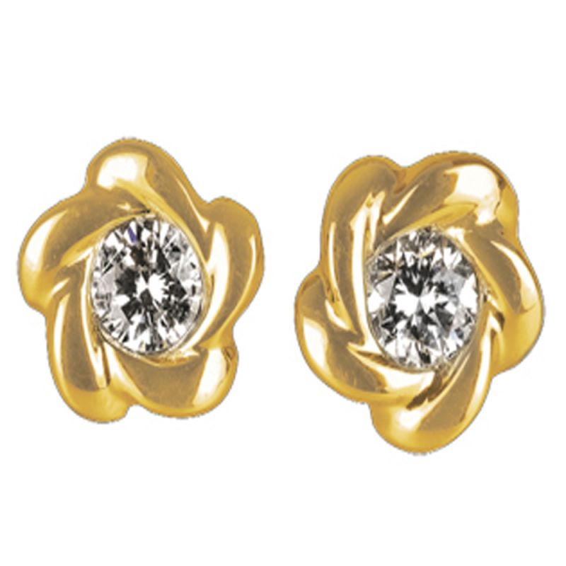 Buy Ag Real Diamond Minal Earring online