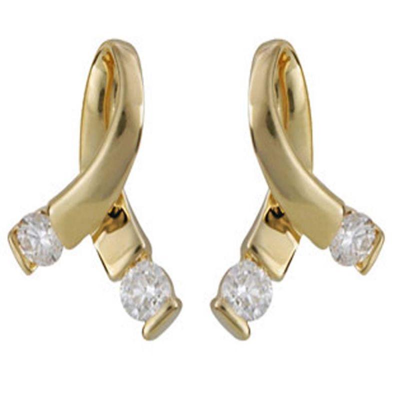 Buy Ag Real Diamond Karnataka Earring Agse0046a online