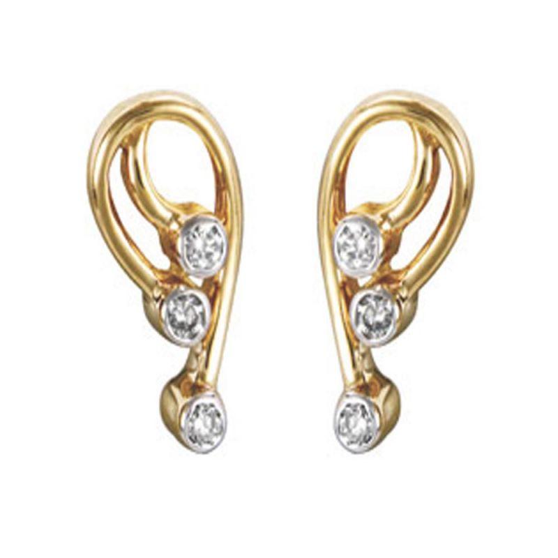 Buy Ag Real Diamond Pooja Earring Agse0049a online