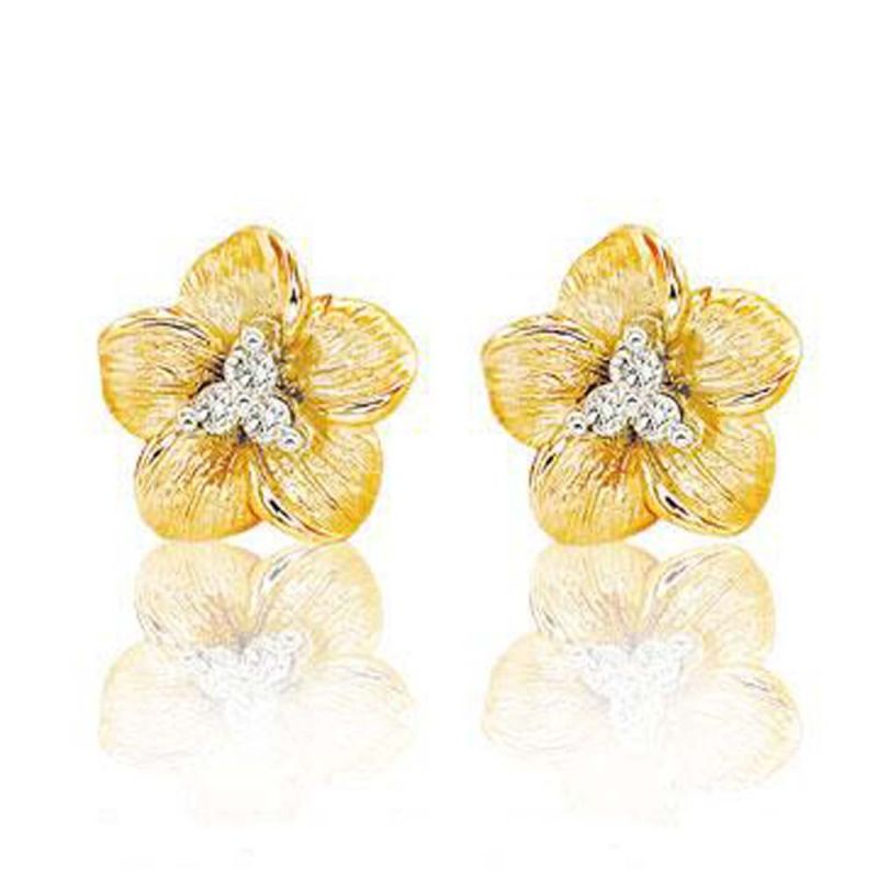 Buy Ag Real Diamond Sachi Earring online