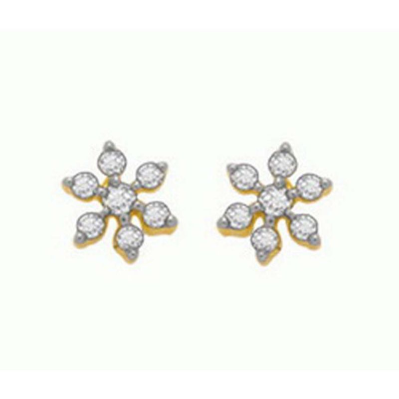 Buy Ag Real Diamond Shraddha Earring Agse0113a online