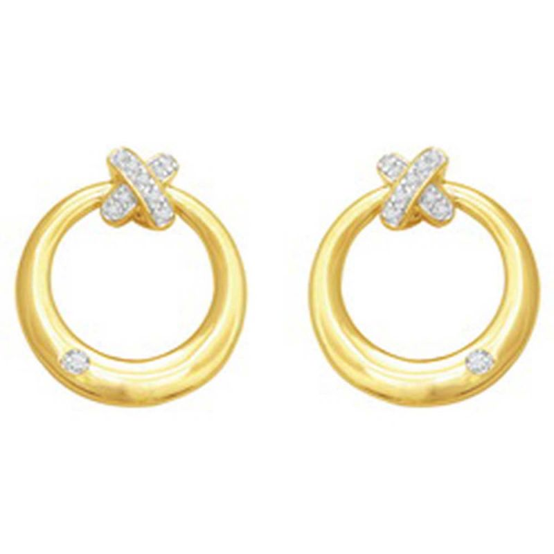 Buy Ag Real Diamond Anjali Earring online