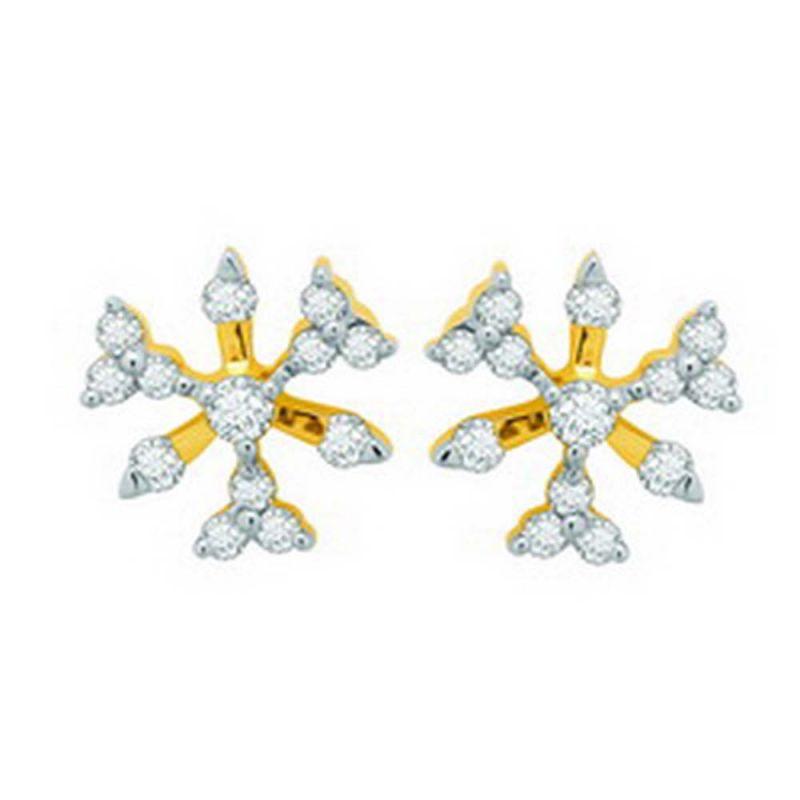 Buy Ag Real Diamond Payal Earring Agse0120a online