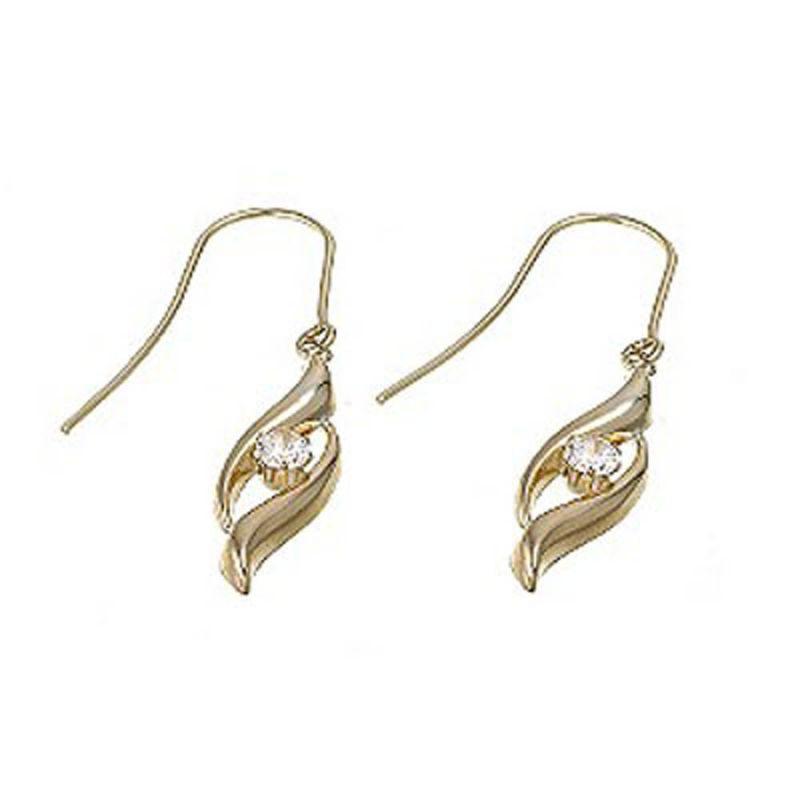 Buy Ag Real Diamond Sachi Earring online
