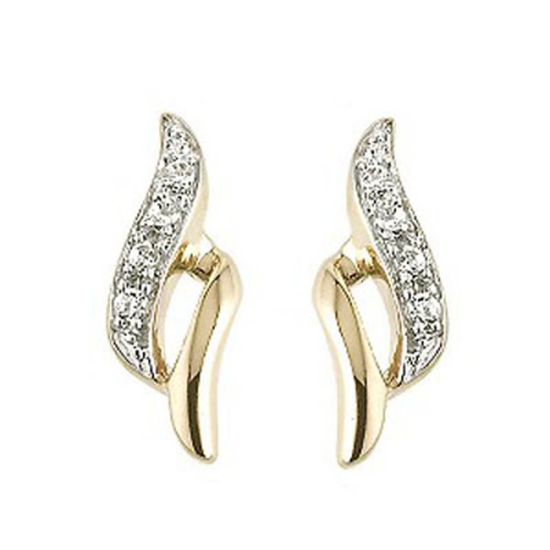 Buy Ag Real Diamond Runali Earring Agse0135a online