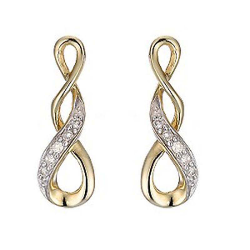 Buy Ag Real Diamond Patana Earring Agse0137a online