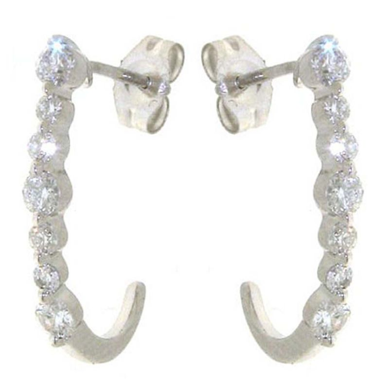 Buy Ag Real Diamond Aruna Earring online