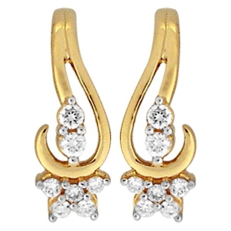 Buy Ag Real Diamond Jevika Earring online
