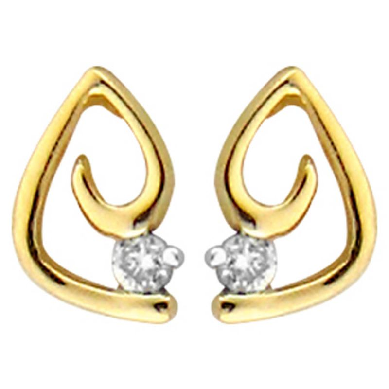 Buy Ag Real Diamond Vaishali  Earring online