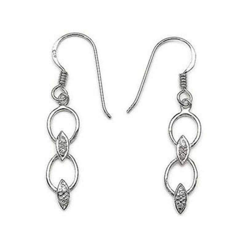 Buy Ag Real Diamond Varsha Earring Agse0169a online