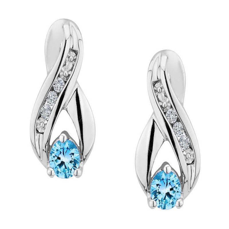 Buy Ag Real Diamond Kanika Earring online