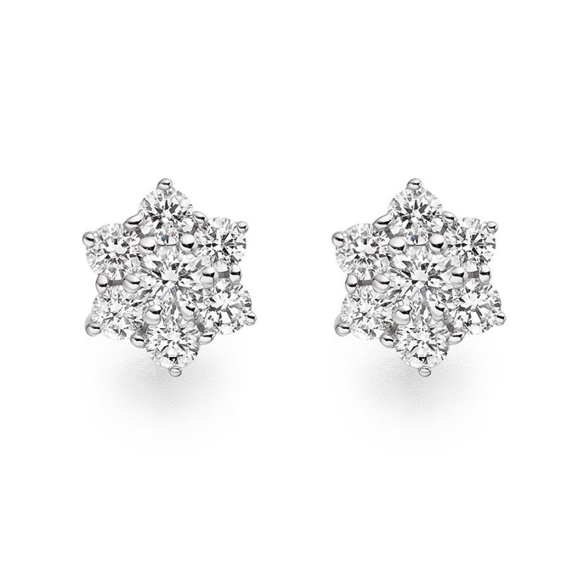 Buy Ag Real Diamond  Pranali Earring online