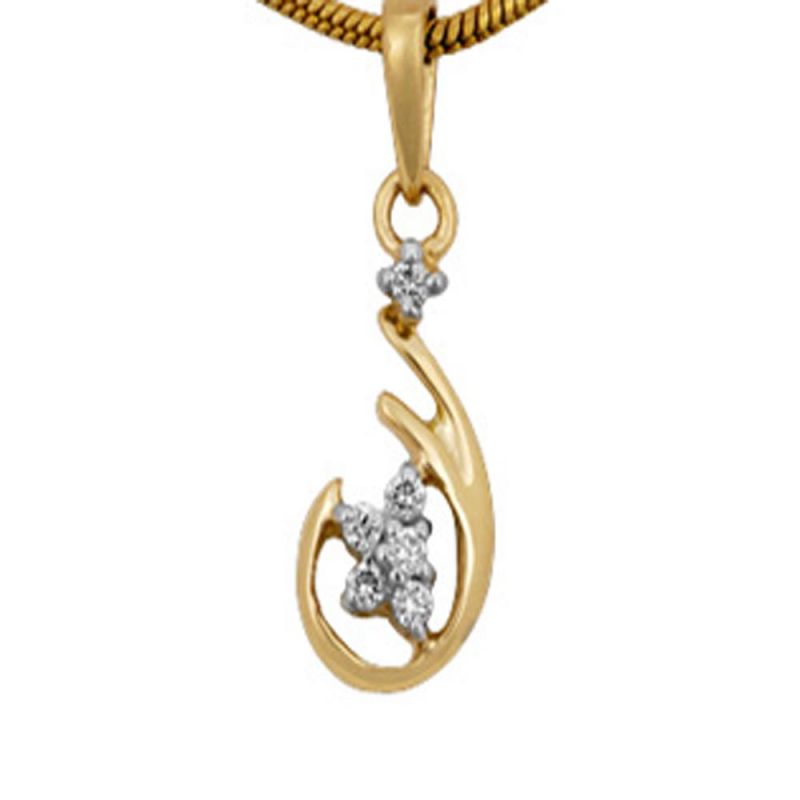 Buy Ag Real Diamond Priyanka Pendant Agsp0037a online