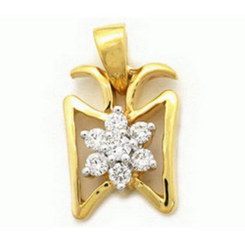 Buy Ag Real Diamond Bhopal Pendant Agsp0063a online