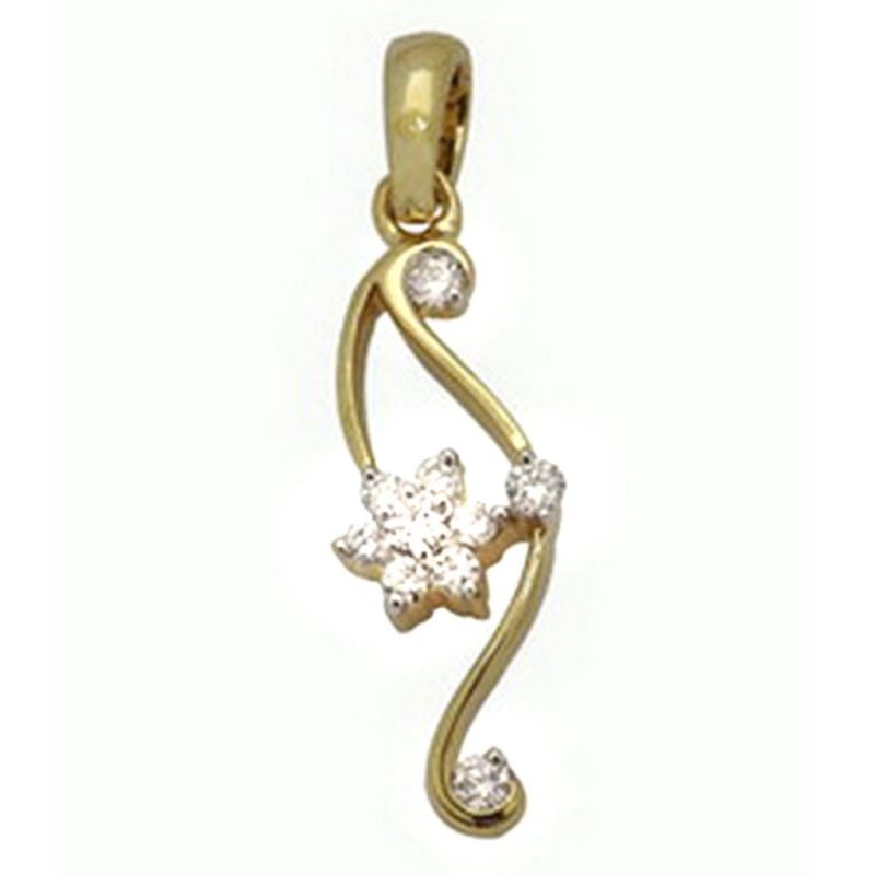 Buy Ag Real Diamond Sneha Pendant online