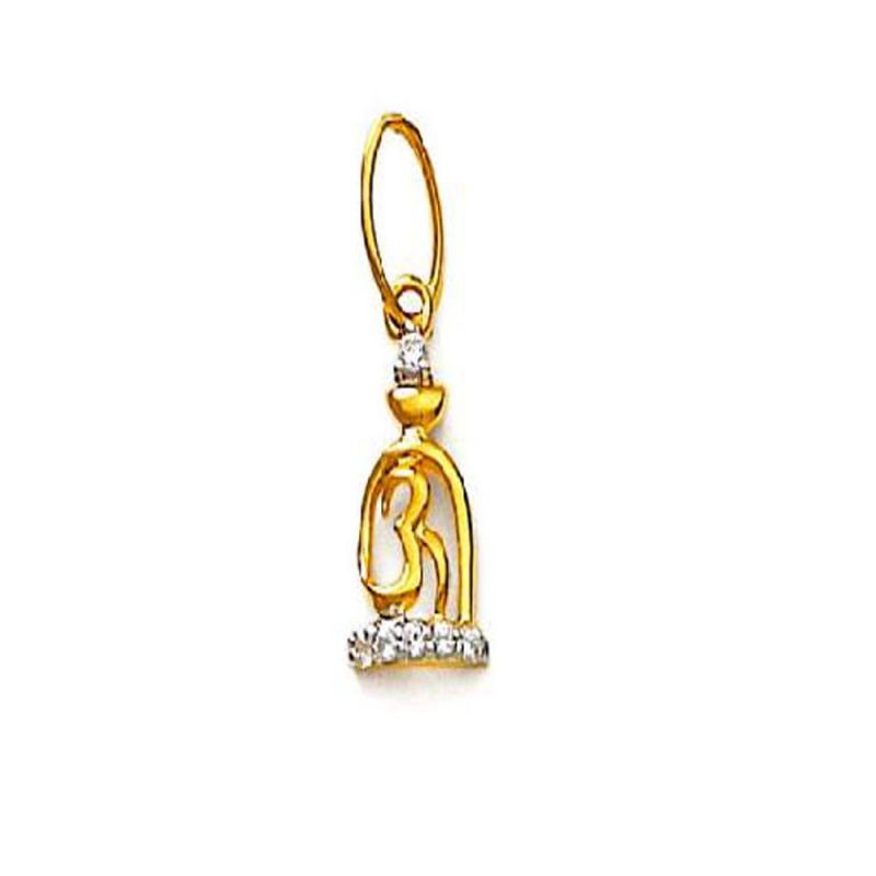 Buy Ag Real Diamond Pratiksha Pendant online