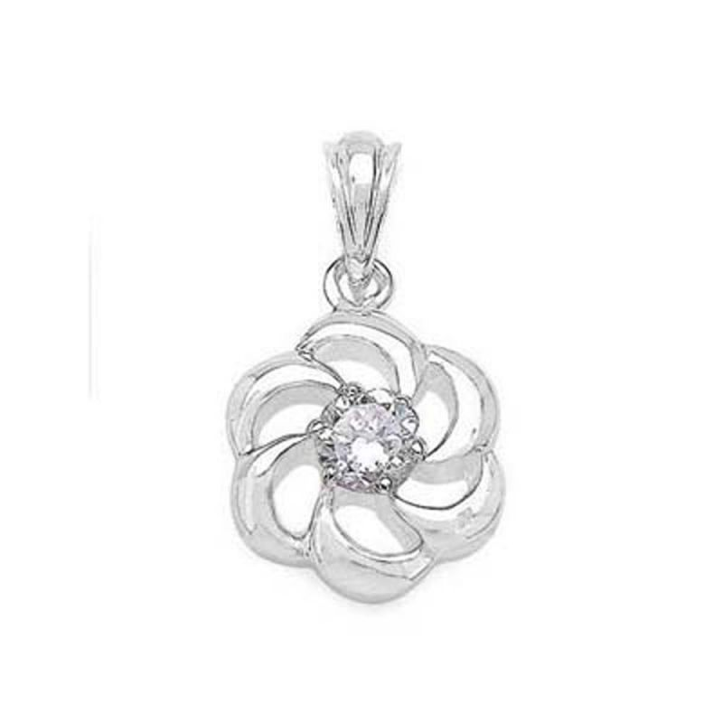 Buy Ag Real Diamond Tejsvi Pendant online