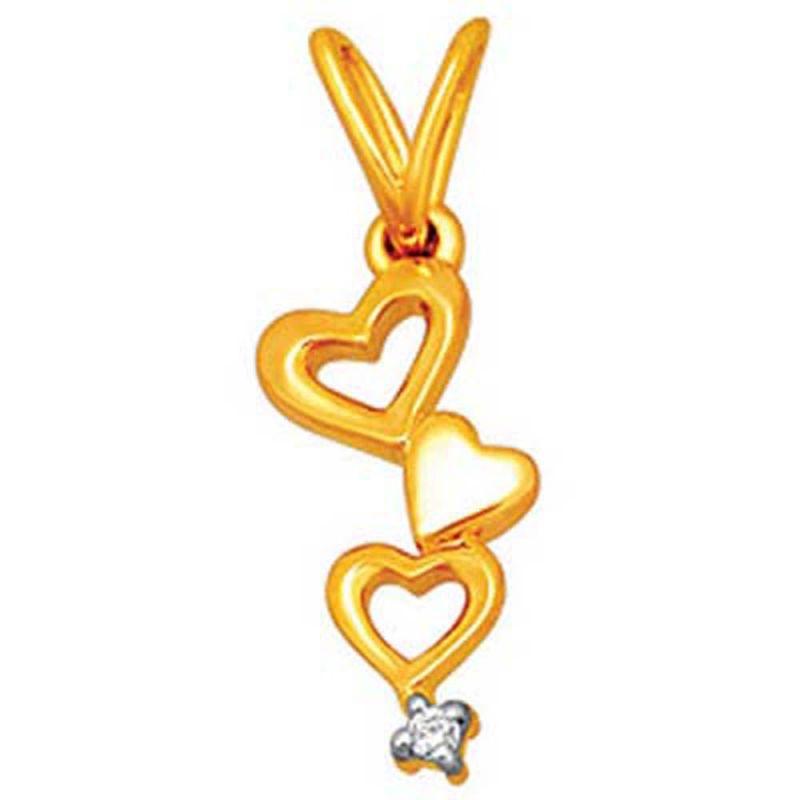 Buy Ag Real Diamond Sachi Pendant online