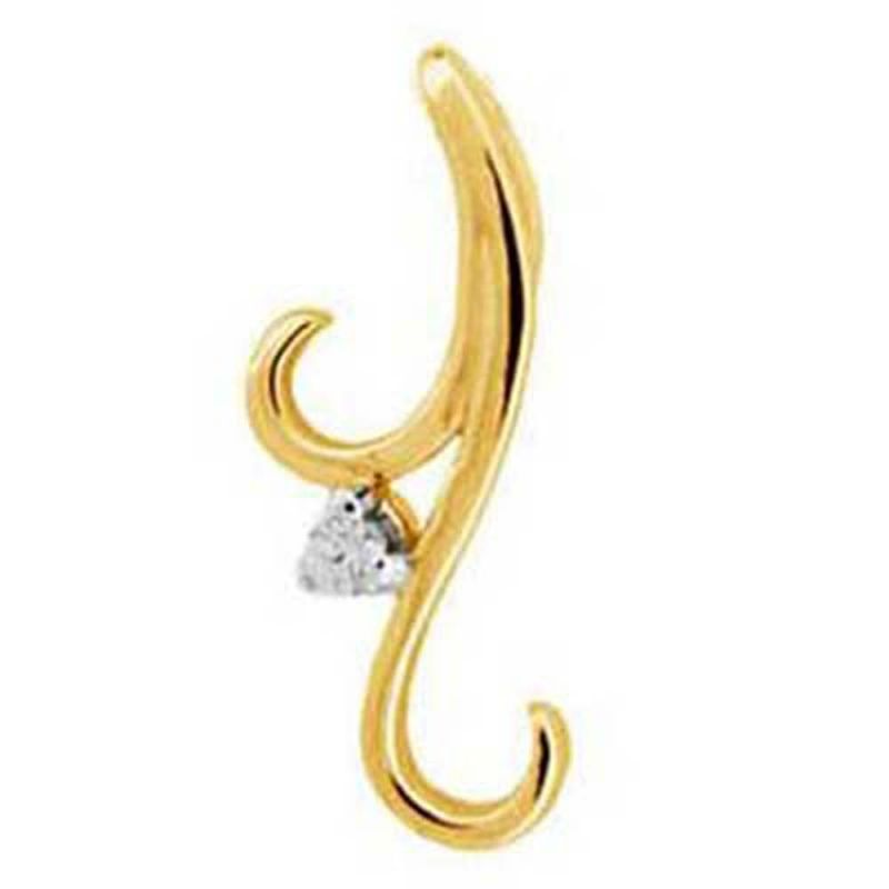 Buy Ag Real Diamond Anjali Pendant online